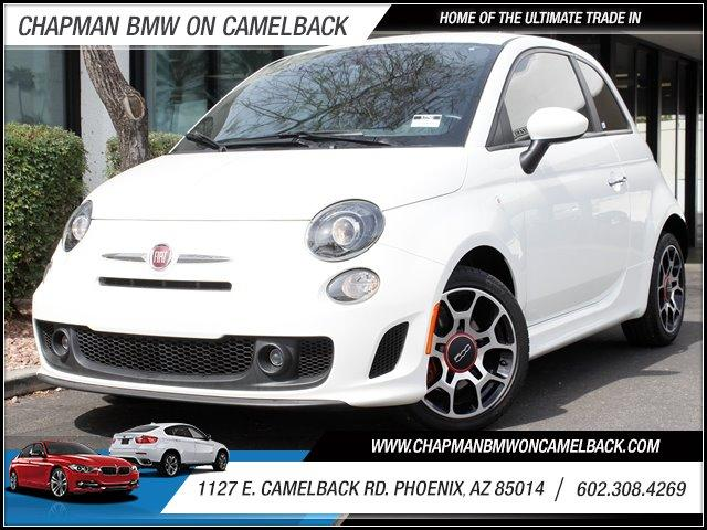 2013 FIAT 500 Sport 9991 miles 1127 E Camelback BUY WITH CONFIDENCE Chapman BMW is locate