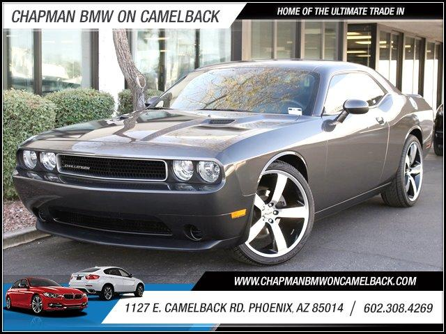 2013 Dodge Challenger 24831 miles 1127 E Camelback BUY WITH CONFIDENCE Chapman BMW is loc