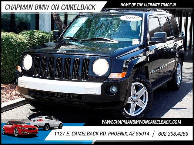 2007 Jeep Patriot Limited 111333 miles CarFax 1 Owner Limited Leather Towing Package MP3 Priv