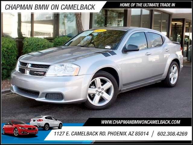 2013 Dodge Avenger SE 35889 miles 1127 E Camelback BUY WITH CONFIDENCE Chapman BMW is loc