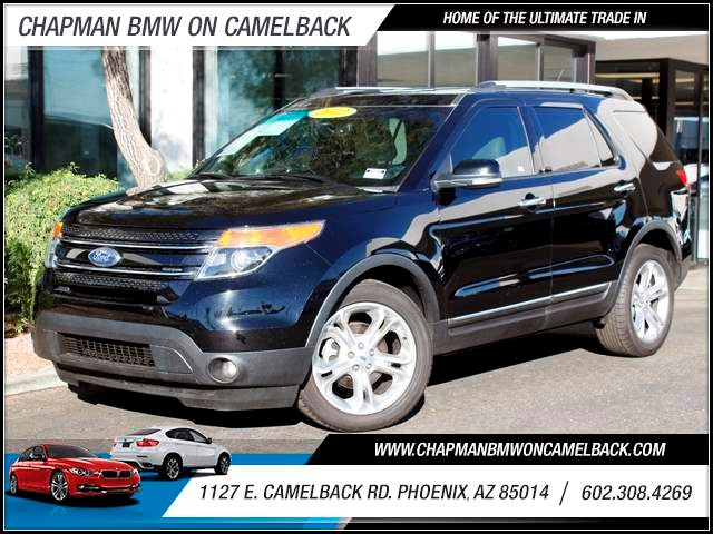 2012 Ford Explorer Limited 63453 miles 1127 E Camelback BUY WITH CONFIDENCE Chapman BMW i