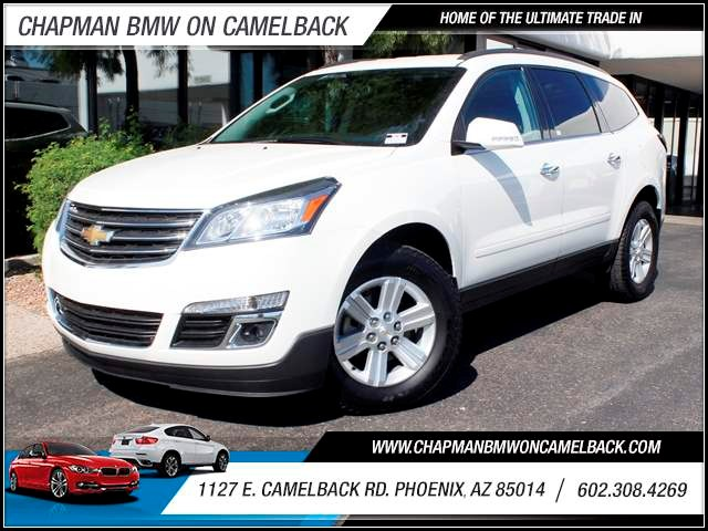 2014 Chevrolet Traverse LT 11284 miles 1127 E Camelback BUY WITH CONFIDENCE Chapman BMW i