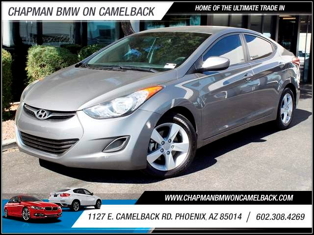 2013 Hyundai Elantra GLS 37304 miles 1127 E Camelback BUY WITH CONFIDENCE Chapman BMW Use