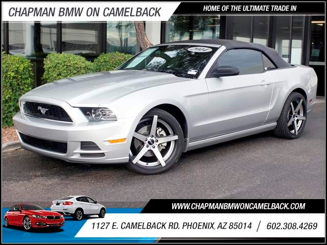 2014 Ford Mustang 40321 miles 1127 E Camelback BUY WITH CONFIDENCE Chapman BMW is located