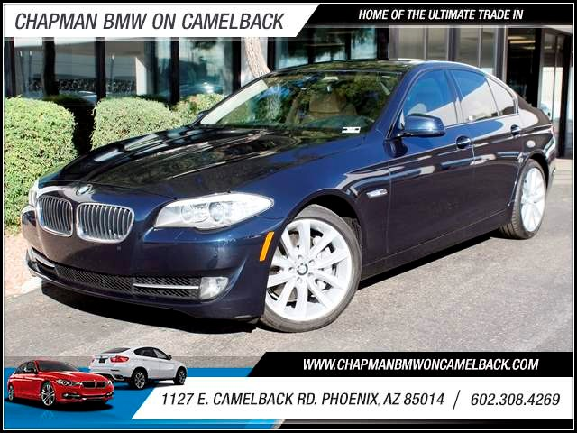 2011 BMW 5-Series 535i 36401 miles 1127 E Camelback BUY WITH CONFIDENCE Chapman BMW is lo