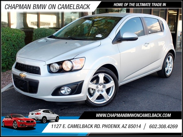 2014 Chevrolet Sonic LTZ 19408 miles 1127 E Camelback BUY WITH CONFIDENCE Chapman BMW Use