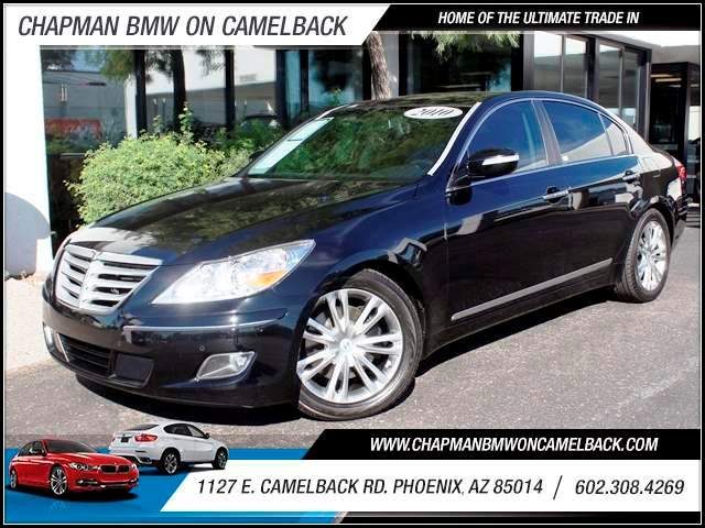 2010 Hyundai Genesis 46L V8 68170 miles 1127 E Camelback BUY WITH CONFIDENCE Chapman BMW