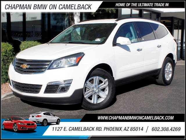 2014 Chevrolet Traverse LT 30587 miles 1127 E Camelback BUY WITH CONFIDENCE Chapman BMW i
