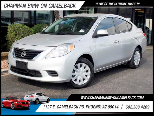 2013 Nissan Versa 16 SV 37755 miles 1127 E Camelback BUY WITH CONFIDENCE Chapman BMW is