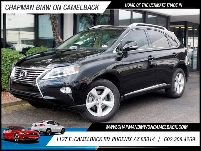 2013 Lexus RX 350 13259 miles 1127 E Camelback BUY WITH CONFIDENCE Chapman BMW is located