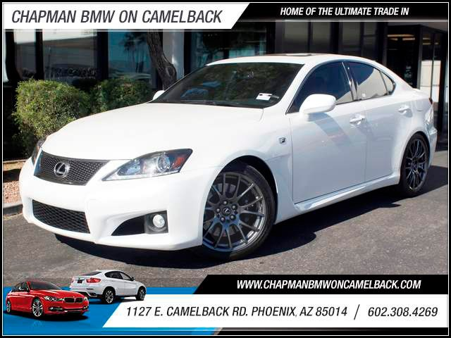 2012 Lexus IS F 16494 miles 1127 E Camelback BLACK FRIDAY SALE EVENT going on NOW through the END