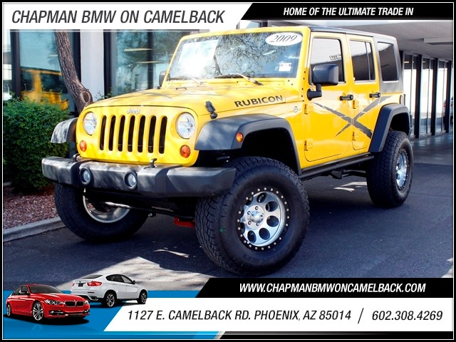 2009 Jeep Wrangler Unlimited Rubicon 15473 miles 602 385-2286 1127 E Camelback HOME OF THE U