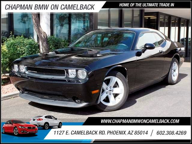 2012 Dodge Challenger SXT 54666 miles 1127 E Camelback BUY WITH CONFIDENCE Chapman BMW is