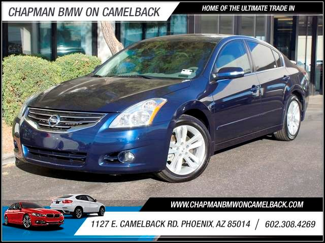 2010 Nissan Altima 35 SR 63632 miles 1127 E Camelback BUY WITH CONFIDENCE Chapman BMW is