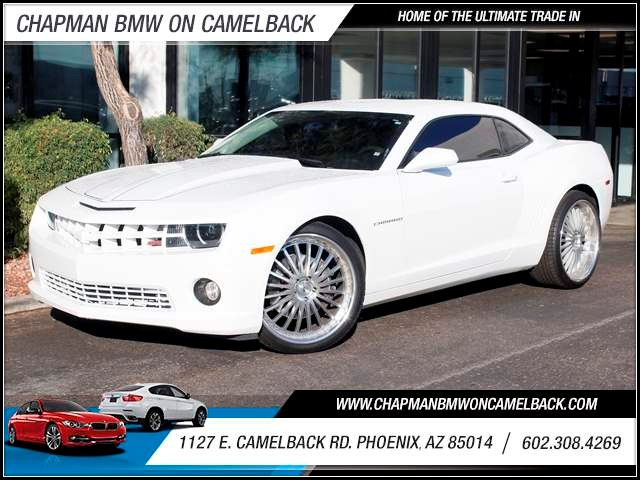 2011 Chevrolet Camaro SS 41720 miles 1127 E Camelback BUY WITH CONFIDENCE Chapman BMW is