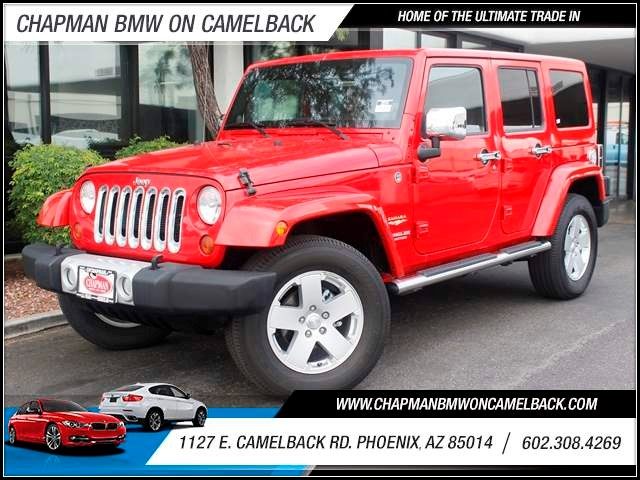 2012 Jeep Wrangler Unlimited Sahara 49717 miles 1127 E Camelback BUY WITH CONFIDENCE Chap