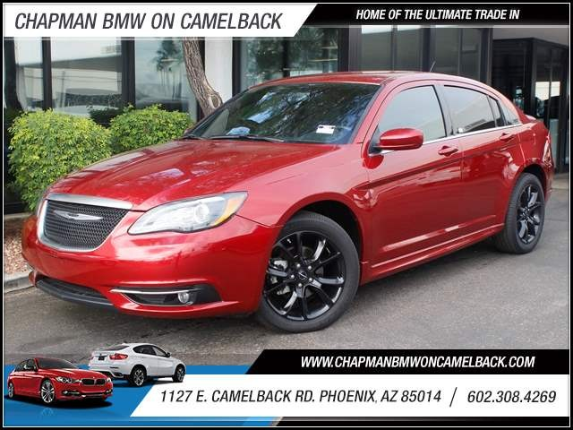 2014 Chrysler 200 Limited 15724 miles 1127 E Camelback BUY WITH CONFIDENCE Chapman BMW is