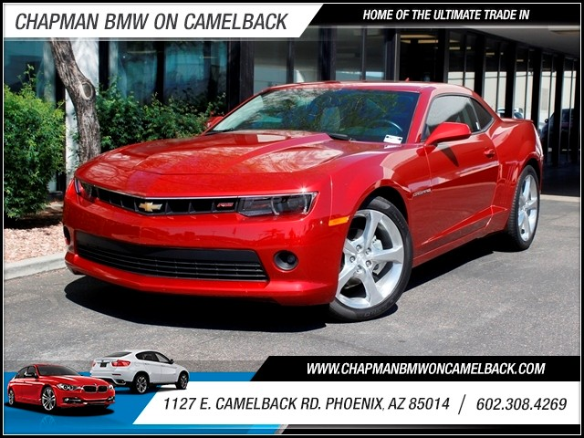 2014 Chevrolet Camaro LT 10416 miles 602 385-2286 1127 Camelback TAX SEASON IS HERE Buy the