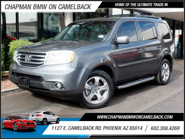 2012 Honda Pilot EX-L 24999 miles 1127 E Camelback BUY WITH CONFIDENCE Chapman BMW is loc