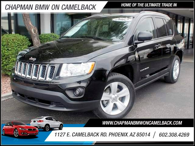 2012 Jeep Compass Sport 56161 miles 602 385-2286 1127 E Camelback HOME OF THE ULTIMATE TRADE