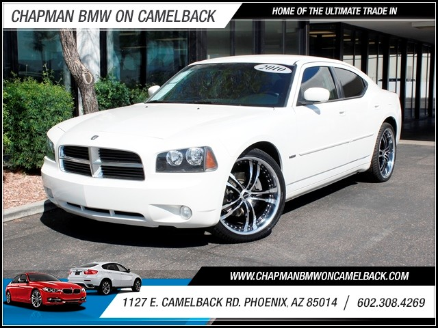 2010 Dodge Charger RT 84102 miles 602 385-2286 1127 E Camelback HOME OF THE ULTIMATE TRADE