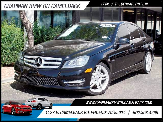 2012 Mercedes C-Class C250 Sport 40221 miles 602 385-2286 1127 Camelback TAX SEASON IS HERE