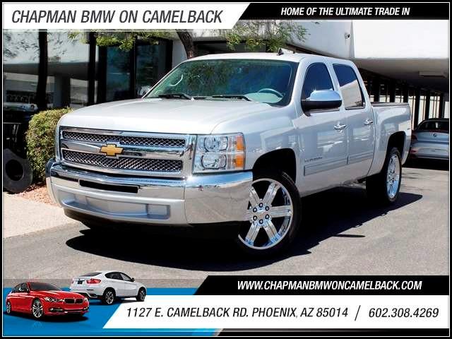 2012 Chevrolet Silverado 1500 LT Crew Cab 51153 miles 602 385-2286 1127 E Camelback HOME OF