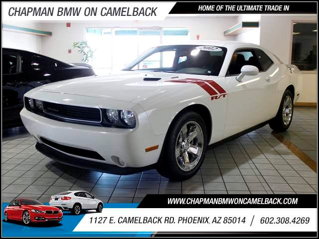 2012 Dodge Challenger RT Classic 15311 miles 602 385-2286 1127 E Camelback HOME OF THE ULTI