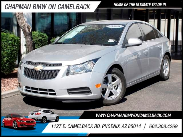 2014 Chevrolet Cruze LT 13217 miles 602 385-2286 1127 Camelback RD TAX SEASON IS HERE Buy t