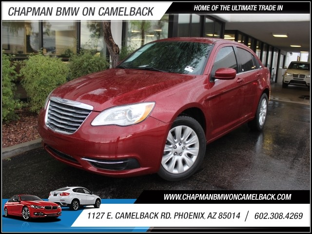 2014 Chrysler 200 LX 37205 miles 1127 E Camelback BUY WITH CONFIDENCE Chapman BMW is loc