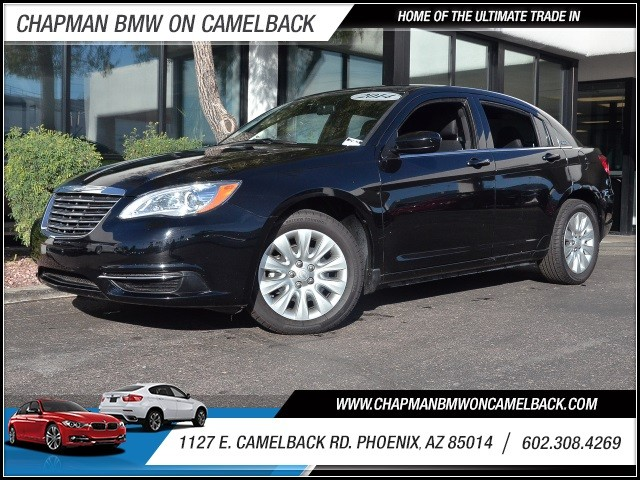 2014 Chrysler 200 LX 41239 miles 1127 E Camelback BUY WITH CONFIDENCE Chapman BMW is loc