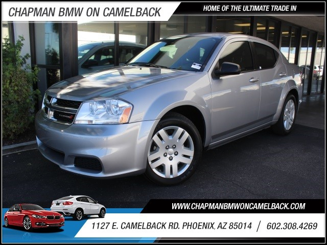 2014 Dodge Avenger SE 38609 miles 1127 E Camelback BUY WITH CONFIDENCE Chapman BMW is lo