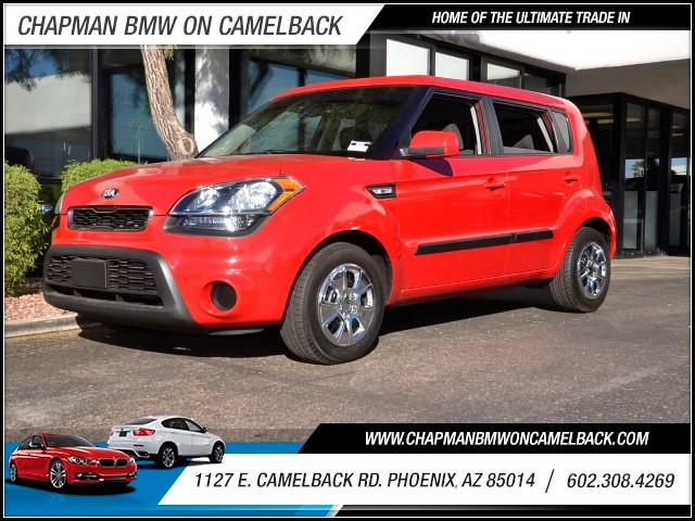 2013 Kia Soul 37618 miles 1127 E Camelback BUY WITH CONFIDENCE Chapman BMW is located at