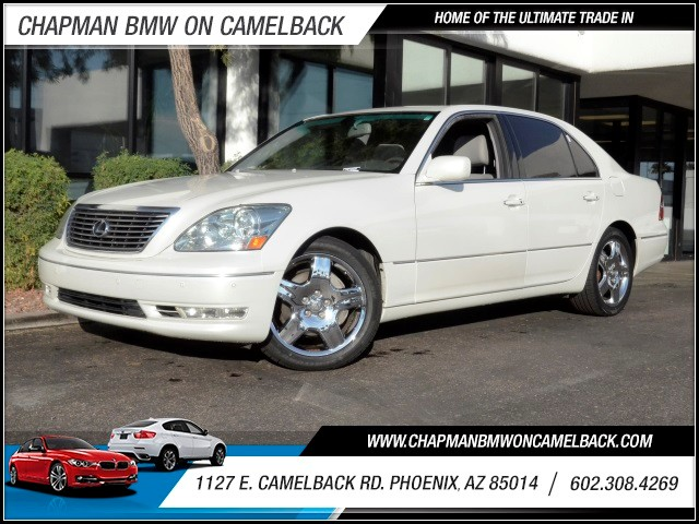 2006 Lexus LS 430 81231 miles 602 385-2286 1127 E Camelback HOME OF THE ULTIMATE TRADE IN
