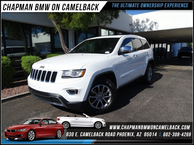 2014 Jeep Grand Cherokee Limited 34238 miles 602 385-2286 1127 E Camelback HOME OF THE ULTIM