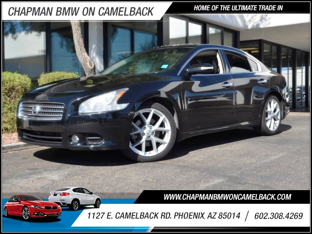 2009 Nissan Maxima 35 SV 85719 miles 1127 E Camelback BUY WITH CONFIDENCE Chapman BMW i