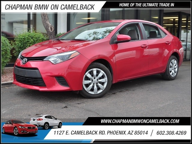 2014 Toyota Corolla LE 30007 miles 602 385-2286 1127 E Camelback HOME OF THE ULTIMATE TRADE