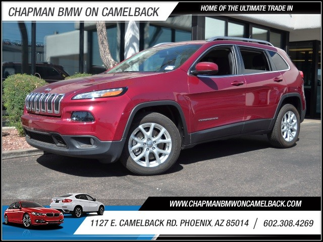 used 2015 jeep cherokee latitude for sale stock cp61815 chapman bmw on camelback. Black Bedroom Furniture Sets. Home Design Ideas