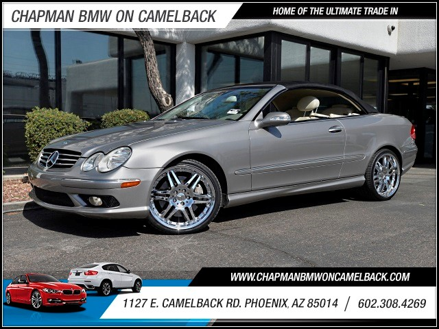 2005 Mercedes CLK-Class CLK500 57639 miles 602 385-2286 1127 E Camelback HOME OF THE ULTIMAT