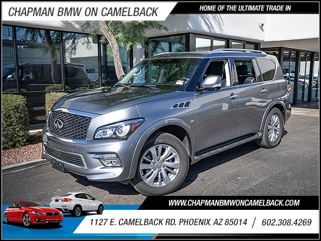 2015 Infiniti QX80 41248 miles PRE-OWNED YEAR END SALE Now through the end of December Chapman