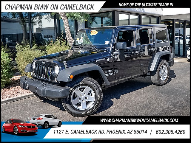 2014 Jeep Wrangler Unlimited Sport 32387 miles PRE-OWNED BLACK FRIDAY SALE Now through the end