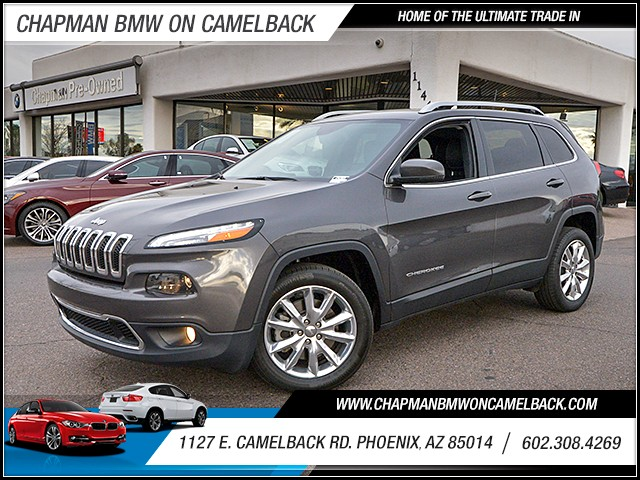 2016 Jeep Cherokee Limited 27117 miles 6023852286 1127 E Camelback Rd Chapman Value center