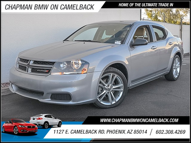 2014 Dodge Avenger SE 30630 miles 6023852286 1127 E Camelback Rd Chapman Value center on Cam