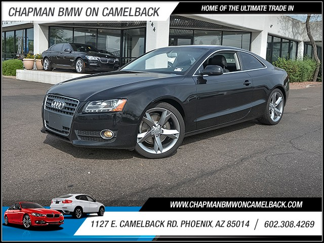 2010 Audi A5 20T quattro Prem Plus 81157 miles 6023852286 1127 E Camelback Rd Chapman Value