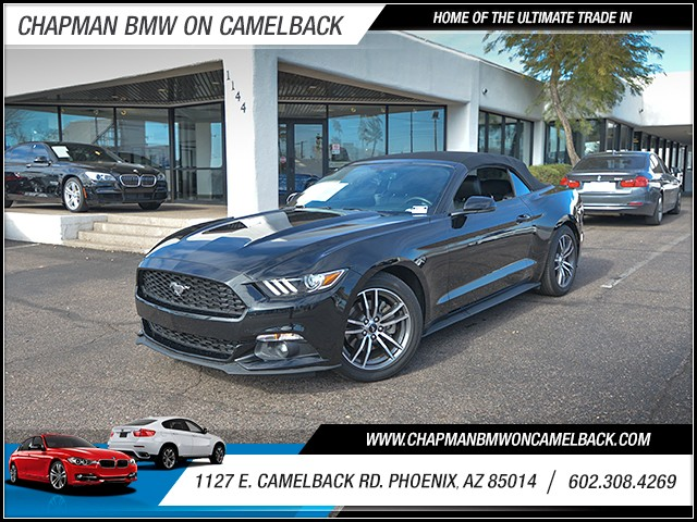 2016 Ford Mustang EcoBoost Premium 32346 miles 6023852286 1127 E Camelback Rd Chapman Value
