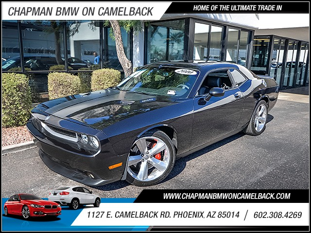 2010 Dodge Challenger SRT8 46054 miles 6023852286 1127 E Camelback Rd Chapman Value center