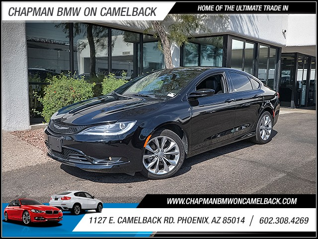2015 Chrysler 200 S 37986 miles Wireless data link Bluetooth Cruise control Anti-theft system