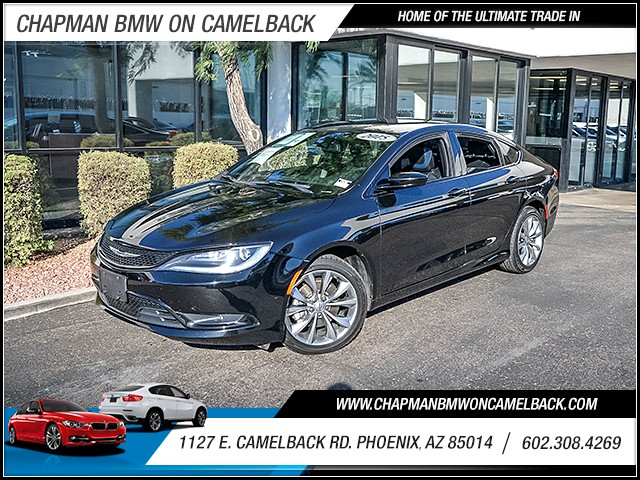 2015 Chrysler 200 S 43072 miles PRE-OWNED YEAR END SALE Now through the end of December Chapma
