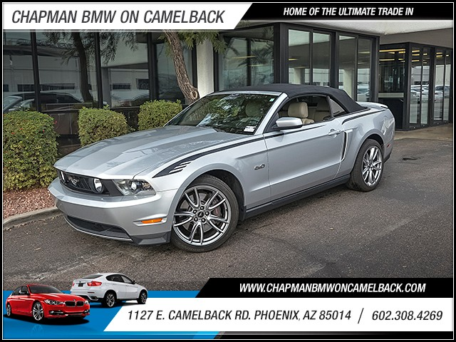 2012 Ford Mustang GT Premium 15323 miles 6023852286 1127 E Camelback Rd Chapman Value cente