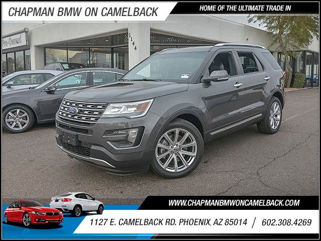 2016 Ford Explorer Limited 27093 miles 6023852286 1127 E Camelback Rd Chapman Value center